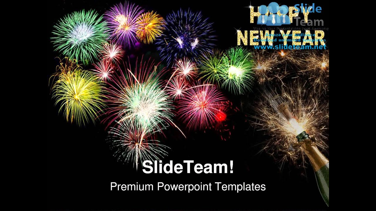 new year celebration festival powerpoint templates themes and, Presentation templates
