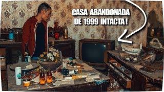 Visitando CASA ABANDONADA INTACTA de 1999 ! - Exploracion Urbana Lugares Abandonados en España