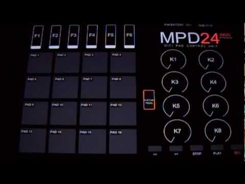 Linkin Park-In The End iPad TouchOSC MPD24 Cover By Crispin