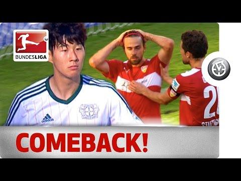 Son, Bellarabi & Harnik - Centre Stage for a Stuttgart & Leverkusen Classic