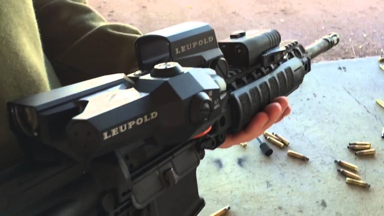 LMT Defense MARS-L (Modular Ambidextrous Rifle System-Light) M7LB2