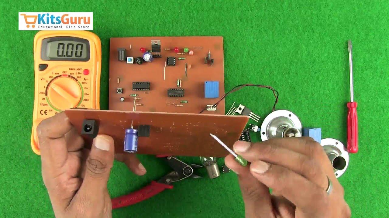 Leddancinglight Is A Simple 6 Leds Multi Vibrator Using Two Led Schematic Flashingledunitcircuit