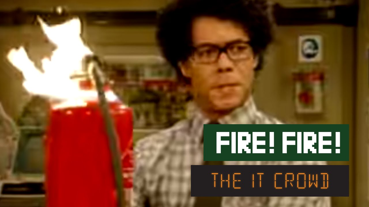 Download The IT Crowd - Series 1 - Episode 2: Fire!