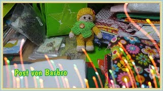 Mega Stoff und Filz Paket von der lieben Barbro ♥