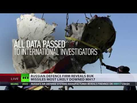 MH17 most likely shot down by Buk missile, but we don't deliver that type – manufacturer
