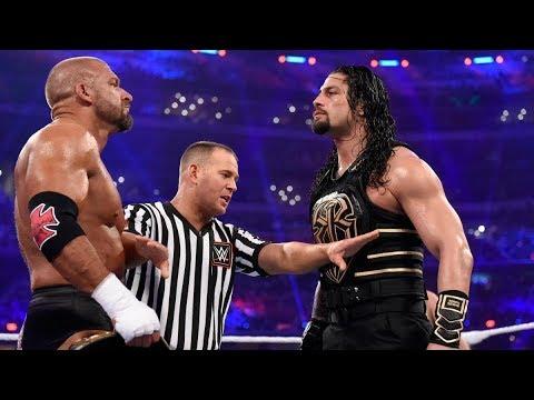 Download Roman Reigns Vs Triple H WWE World Heavyweight Championship Full Match-Wrestlemania 32