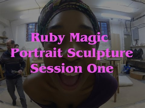 HOW TO SCULPT A PORTRAIT: SESSION 1