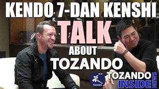 Kendo 7-dan Bennett And Hayashi Talk - Kyoto Budogu Kendo Store - Tozando Inside News #8