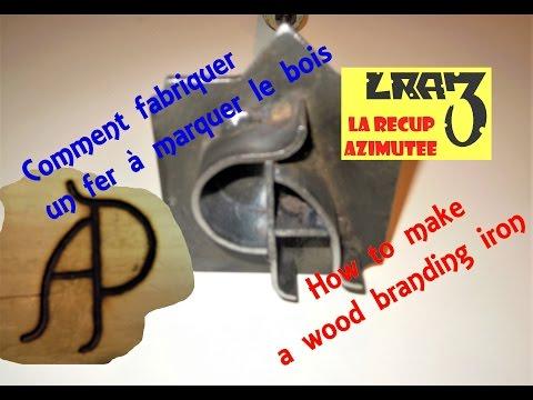 Fer à marquer le bois / Wood branding iron