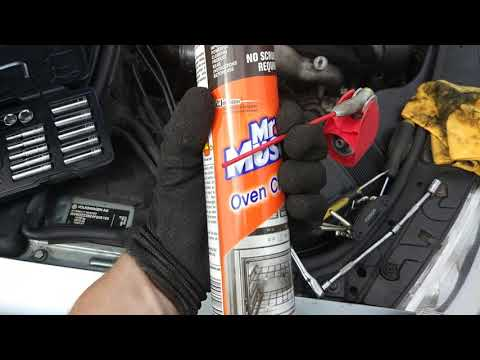 How To Fix Limp Mode On A 1.9 TDi For £4.50 - Mr Muscle VNT Clean