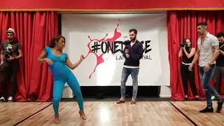 Baixar KIKE & NAHIR  ONE DANCE! (UK 🇬🇧) (Dancing on My own (BACHATA REMIX) DJ PIOLO & DJ CYBER T )