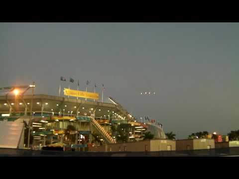 Super Bowl 44 Flyover