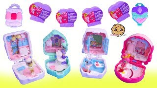 Mini Worlds ! Shopkins Lil Secrets Shoppies Dolls + My Little Pony Squishy Pops Blind Bags