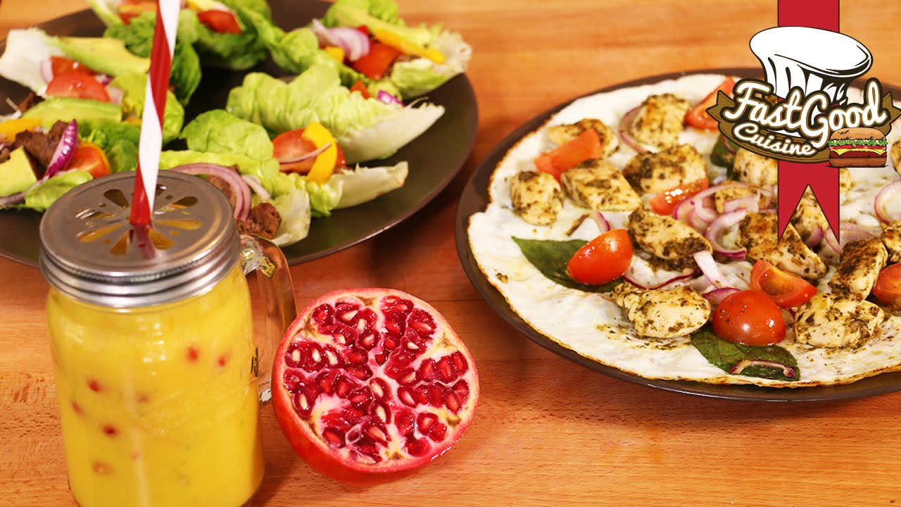 Super Mes recettes Fitness : Tacos Light, Omelette italienne et Smoothie  OY67