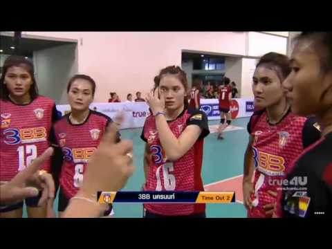 3BB Nakhonnont vs Thai-Denmark Nongrua | 21 Dec 2016 | Volleyball Women Thailand League 2016/2017