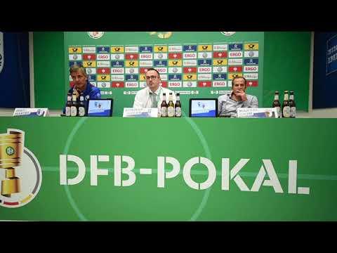 Pressekonferenz DFB-Pokal 1. Hauptrunde 1. FC Magdeburg gegen FC Augsburg 2:0 (0:0)