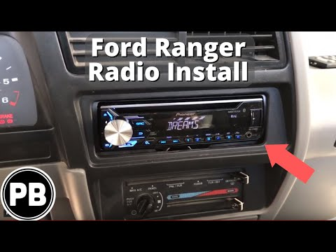 [DIAGRAM_38YU]  1989 - 1994 Ford Ranger Bluetooth Stereo Install | Pioneer DEH-X3900BT -  YouTube | 94 Ranger Radio Wiring |  | YouTube