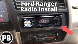 1989 - 1994 Ford Ranger Bluetooth Stereo Install | Pioneer DEH-X3900BT -  YouTube | Ford Factory Radio Wiring Diagram For Pioneer |  | YouTube