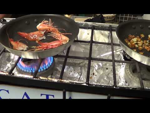 How to Cook Live Spot Prawns with Chef Christopher Logan thumbnail