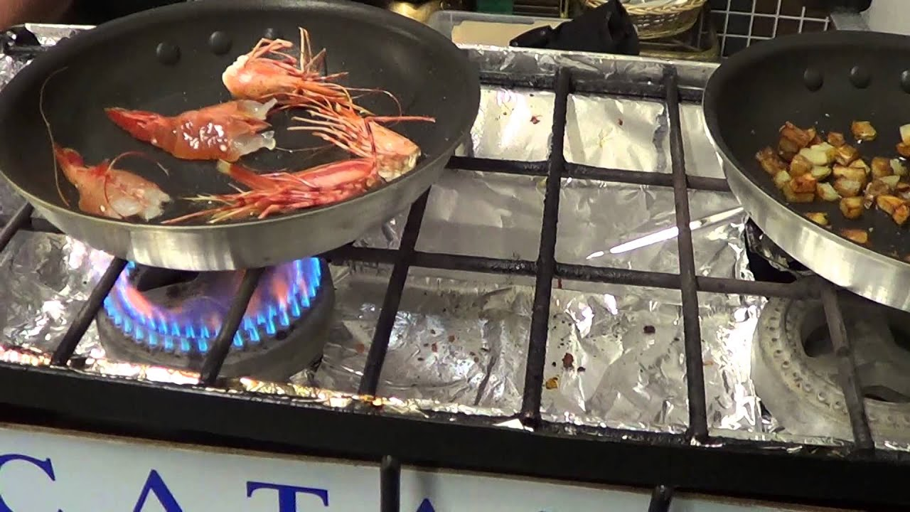 how to cook spot prawns