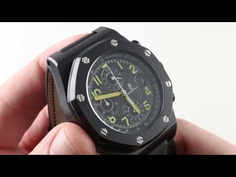 """Audemars Piguet Royal Oak Offshore """"End of Days"""" Edition 25770SN.OO.01 Luxury Watch Review"""