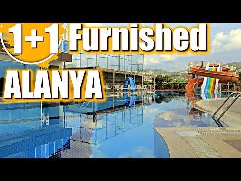 1 + 1 Furnished Apartment In Alanya Mahmutlar,buying Property In Turkey,buying Property In Turkey
