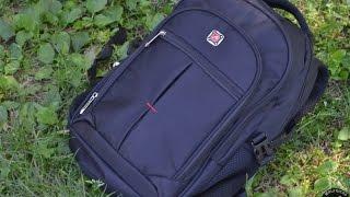 Стильный городской рюкзак Augur черного цвета.(Ссылка на рюкзак: http://www.gearbest.com/men-s-bags/pp_153390.html?vip=75632., 2016-03-03T07:32:55.000Z)