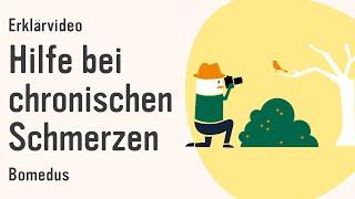 Erklärfilm | Hilfe bei chronischen Schmerzen wie Rückenschmerzen | bomedus | Erklärvideo