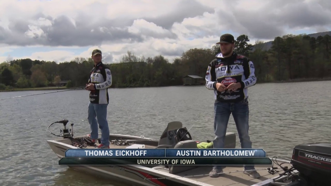 Mid Afternoon Action From Lake Dardanelle And Collegiate