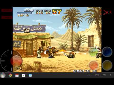 aFBA Mame - NeoGeo emulator for Android