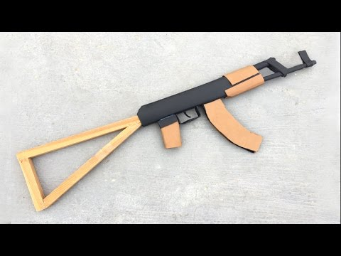 Thumbnail: How To Make an AK-47 that Shoots at Home