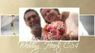 After Effects Templates Wedding Hearts CS4 Free Download