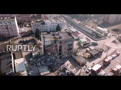 Poland: 4 killed, 24 injured after Poznan apartment building collapses