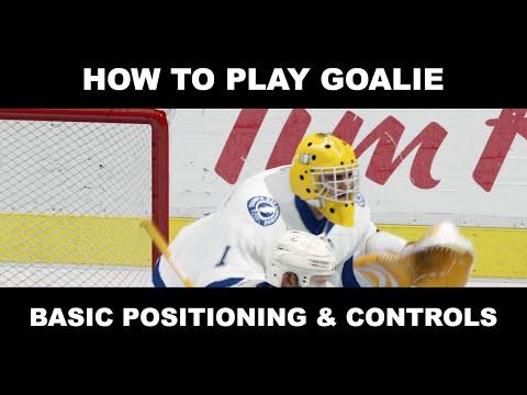 NHL 16 EASHL Goalie Tips – Basic Positioning & Controls