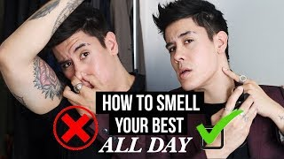 HOW TO SMELL GOOD (ALL DAY) + BEST COLOGNES FOR MEN | JAIRWOO