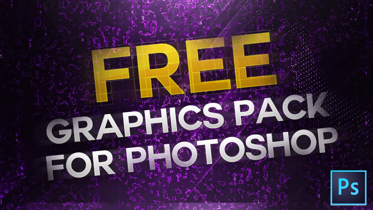 FREE Photoshop Graphics Pack Download- 2K GFX Pack