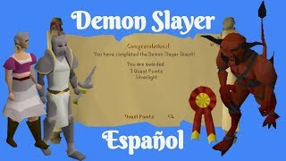 [OSRS] Demon Slayer Quest (Español)