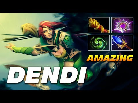 Dendi Amazing Windranger | Dota 2 Pro Gameplay