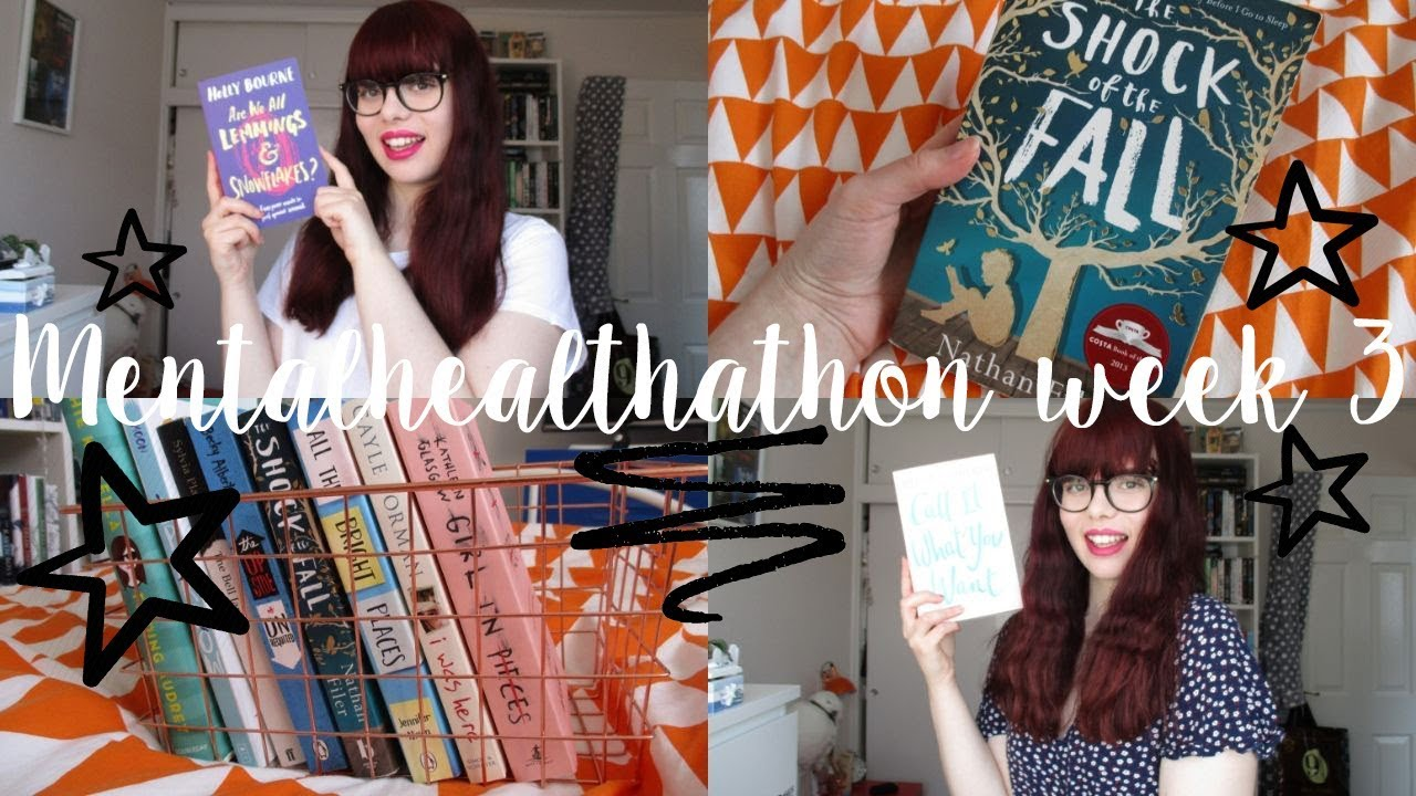 COME BOOK SHOPPING WITH ME & EXCITING BOOK MAIL | MENTALHEALTHATHON READING VLOG