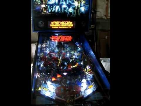 star-wars-pinball-(data-east-1992)-for-sale,-south-jersey
