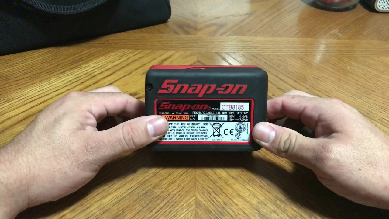 Snap On CTB8185 18v battery