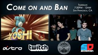 Come on and Ban #35 - Winner Ro32: BasK|MooG (Yoshi) vs BatShark (Zero Suit Samus)