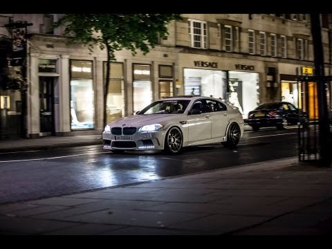 Hamann BMW M5 F10 w/ ADV1 Rims : Revs and Accelerations!!!