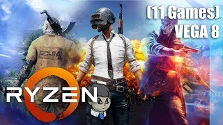 "Ryzen 3 2200G + Vega 8 \ 11 Games \ ""SCUM"" ""Battlefield V"" and More"
