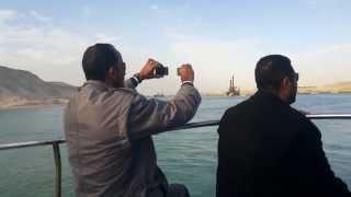 هانى عبد الرحمن فى قناة السويس الجديدة يرصد ويصوركل حدث فى قناة السويس الجديدة