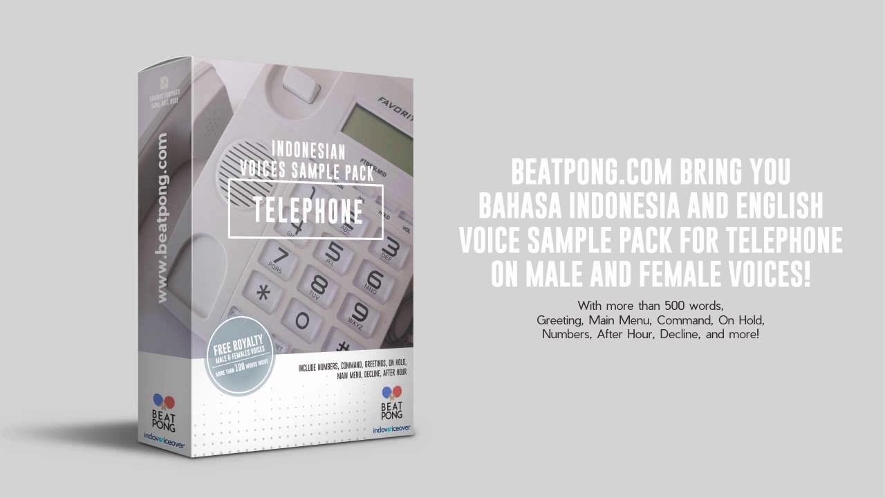 Voice Sample Pack | IVR | Telephone Voice Pack - YouTube