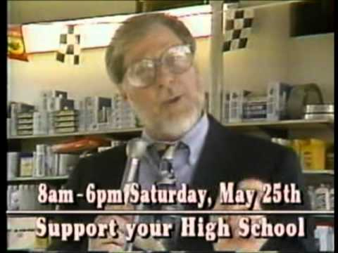 Billings Skyview High School's Grad Day commercial from 1991