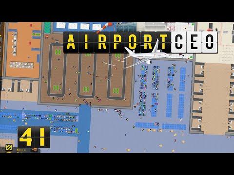 Airport CEO ✈ Mitarbeiterzugänge ► #41 Flughafen Bau Management Simulation deutsch german