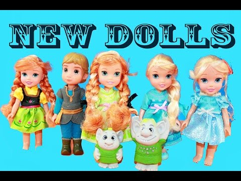 Queen Elsa Frozen Anna Trolls New Toys R Us Exclusive Toy Doll Playset Collection All Toy Collector