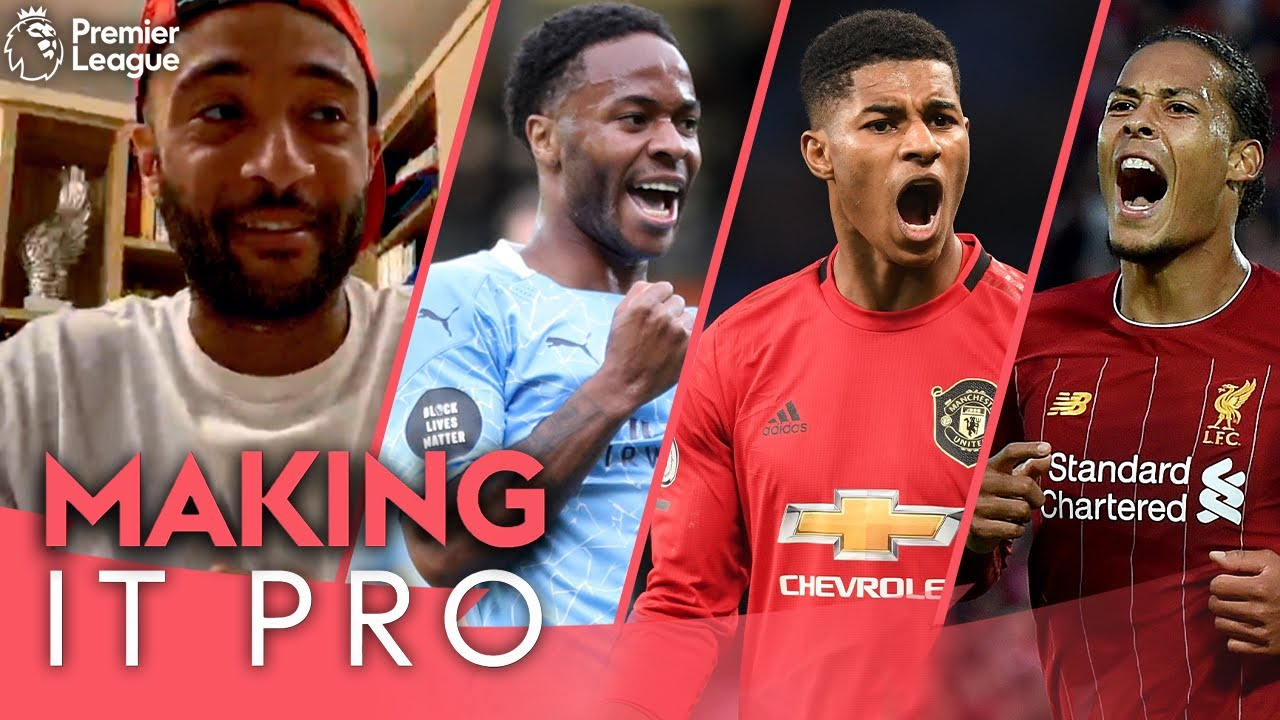 1v1 vs Sterling, Lingard or Rashford = trouble! | Van Dijk is great! | Making It Pro ft Redmond | AD